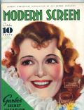 Janet Gaynor on the cover of Modern Screen (United States) - October 1934