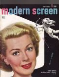 Lana Turner on the cover of Modern Screen (United States) - November 1948