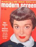 Jane Wyman on the cover of Modern Screen (United States) - June 1951