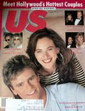 Marlee Matlin, Marlee Matlin and Richard Dean Anderson, Richard Dean Anderson on the cover of Us Magazine (United States) - May 1988
