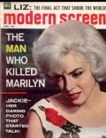 Marilyn Monroe on the cover of Modern Screen (United States) - November 1962