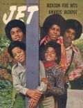 Michael Jackson on the cover of Jet (United States) - December 1970