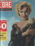 Marilyn Monroe on the cover of Le Ore (Italy) - March 1956