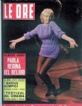Marilyn Monroe on the cover of Le Ore (Italy) - September 1960