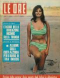 Claudia Cardinale on the cover of Le Ore (Italy) - August 1961