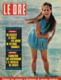 Claudia Cardinale on the cover of Le Ore (Italy) - May 1962