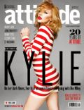 Kylie Minogue on the cover of Attitude (United Kingdom) - May 2014