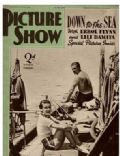 Errol Flynn on the cover of Picture Show (United States) - July 1939