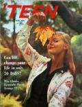 Carol Lynley on the cover of Teen (United States) - October 1958