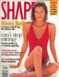 Yasmeen Ghauri on the cover of Shape (United States) - June 1998