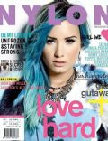 Demi Lovato on the cover of Nylon (Indonesia) - February 2014