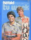 Erik Estrada, Larry Wilcox on the cover of TV Week (Canada) - August 1979