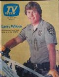 Larry Wilcox on the cover of TV Week (United States) - July 1981