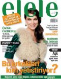 Özge Özberk on the cover of Elele (Turkey) - November 2008