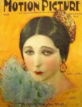 Barbara La Marr on the cover of Motion Picture (United States) - May 1924
