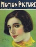 Alma Rubens on the cover of Motion Picture (United States) - September 1925