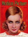 Greta Garbo on the cover of Motion Picture (United States) - March 1931