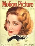 Marlene Dietrich on the cover of Motion Picture (United States) - April 1931