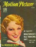 Sally Eilers on the cover of Motion Picture (United States) - August 1933