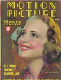 Olivia de Havilland on the cover of Motion Picture (United States) - April 1937