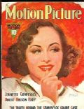 Paulette Goddard on the cover of Motion Picture (United States) - May 1938