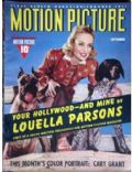 Carole Lombard on the cover of Motion Picture (United States) - September 1940