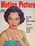 Ann Blyth, Marilyn Monroe on the cover of Motion Picture (United States) - July 1955
