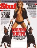 Joanna Krupa on the cover of Stuff (United States) - February 2006