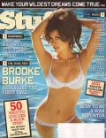 Brooke Burke on the cover of Stuff (United States) - July 2006