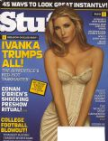 Ivanka Trump on the cover of Stuff (United States) - September 2006