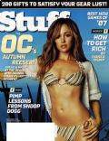 Autumn Reeser on the cover of Stuff (United States) - December 2006