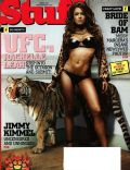 Rachelle Leah on the cover of Stuff (United States) - April 2007