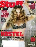 Bijou Phillips on the cover of Stuff (United States) - June 2007