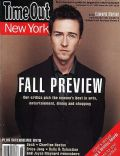 Edward Norton on the cover of Time Out New York (United States) - September 1998