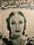 Dolores del Rio on the cover of Ecran (Chile) - March 1932