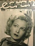 Greta Granstedt on the cover of Ecran (Chile) - May 1932