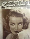Gwili Andre on the cover of Ecran (Chile) - May 1932