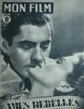 Joan Fontaine, Tyrone Power on the cover of Mon Film (France) - July 1947