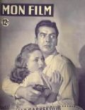 Victor Mature on the cover of Mon Film (France) - March 1949