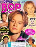 Devon Sawa on the cover of Bop (United States) - 1997