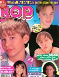 Devon Sawa on the cover of Bop (United States) - January 1997