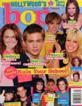 Chad Michael Murray, Chad Michael Murray and Hilary Duff, Hilary Duff, Jesse McCartney on the cover of Bop (United States) - September 2004