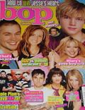 Jesse McCartney on the cover of Bop (United States) - April 2005