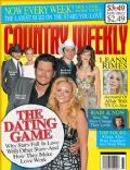 Blake Shelton, Brad Paisley, Faith Hill, LeAnn Rimes, Miranda Lambert, Miranda Lambert and Blake Shelton on the cover of Country Weekly (United States) - April 2009