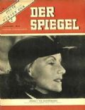 Greta Garbo on the cover of Der Spiegel (Germany) - September 1948