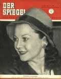 Vivien Leigh on the cover of Der Spiegel (Germany) - May 1951