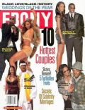 Beyoncé Knowles, Beyonce Knowles and Jay-Z, Janet Jackson, Janet Jackson and Jermaine Dupri, Jay-Z, Jermaine Dupri on the cover of Ebony (United States) - February 2004