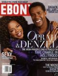 Denzel Washington, Oprah Winfrey on the cover of Ebony (United States) - January 2008