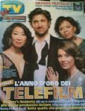 Sandra Oh on the cover of TV Sorrisi E Canzoni (Italy) - 2007