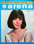 Natalie Wood on the cover of Arena (Yugoslavia Serbia and Montenegro) - May 1968